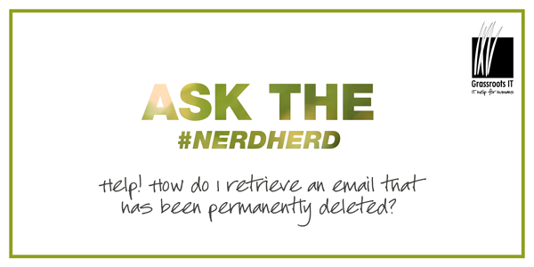 #asktheNerdherd blog post_ deleted email