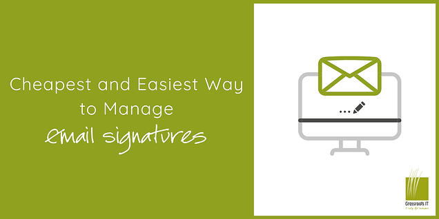Cheapest & Easiest Way to Manage Email Signature