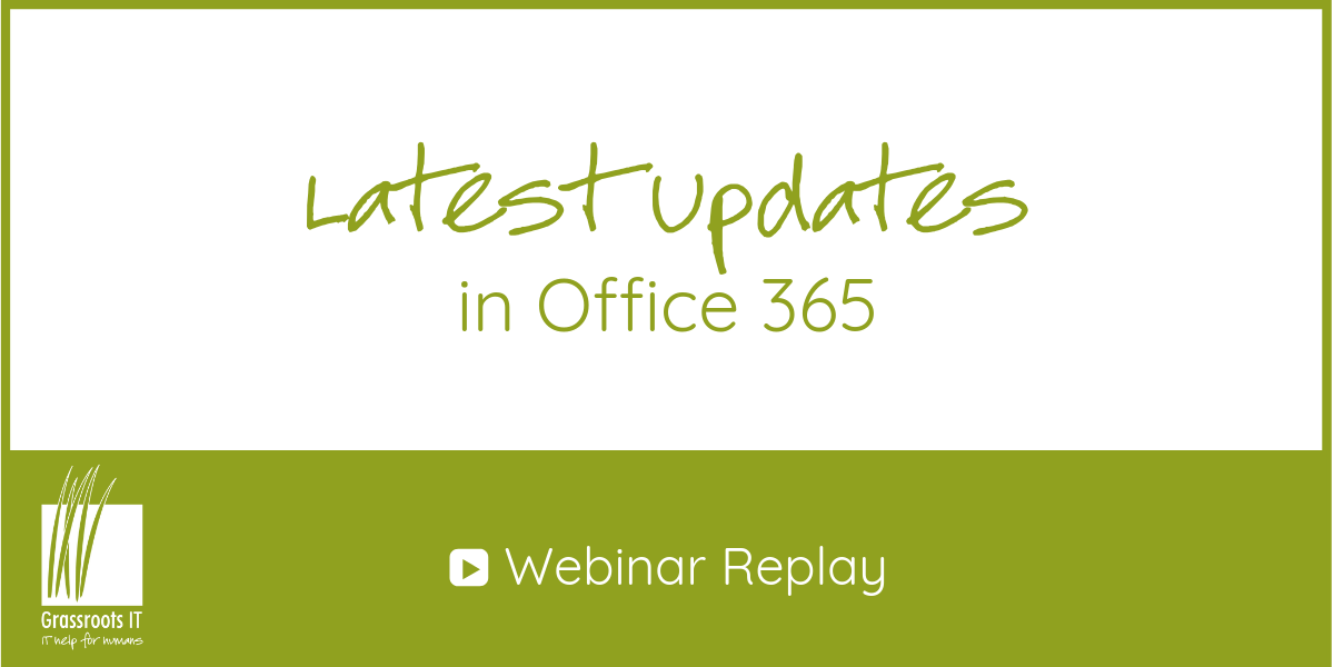 O365 Webinar 2019 Replay Feature image
