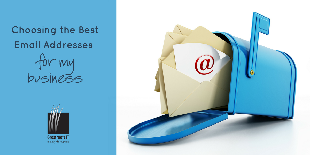 Choosing the Best Email Addresses