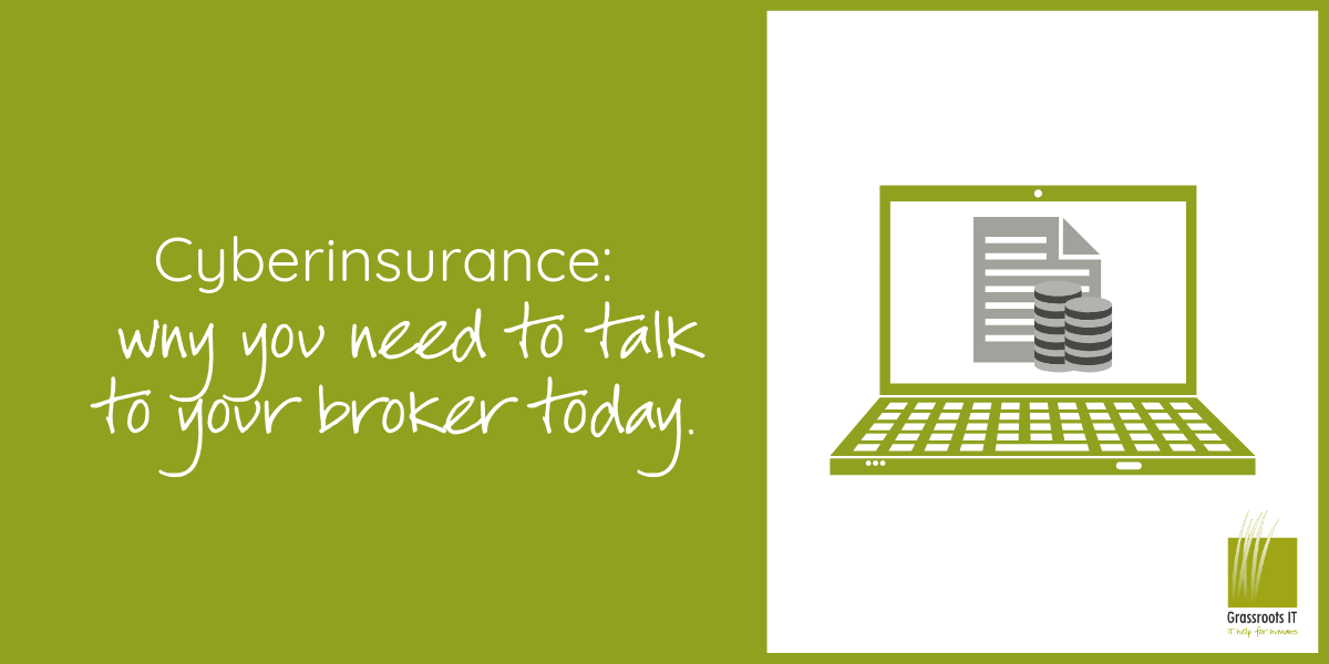 CyberInsurance: Why You Need to Talk to Your Broker Today