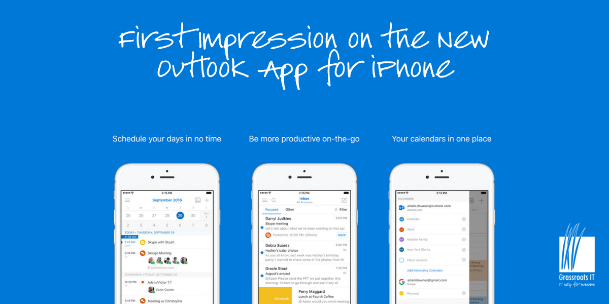 First Impressions of the New Outlook App for iPhone