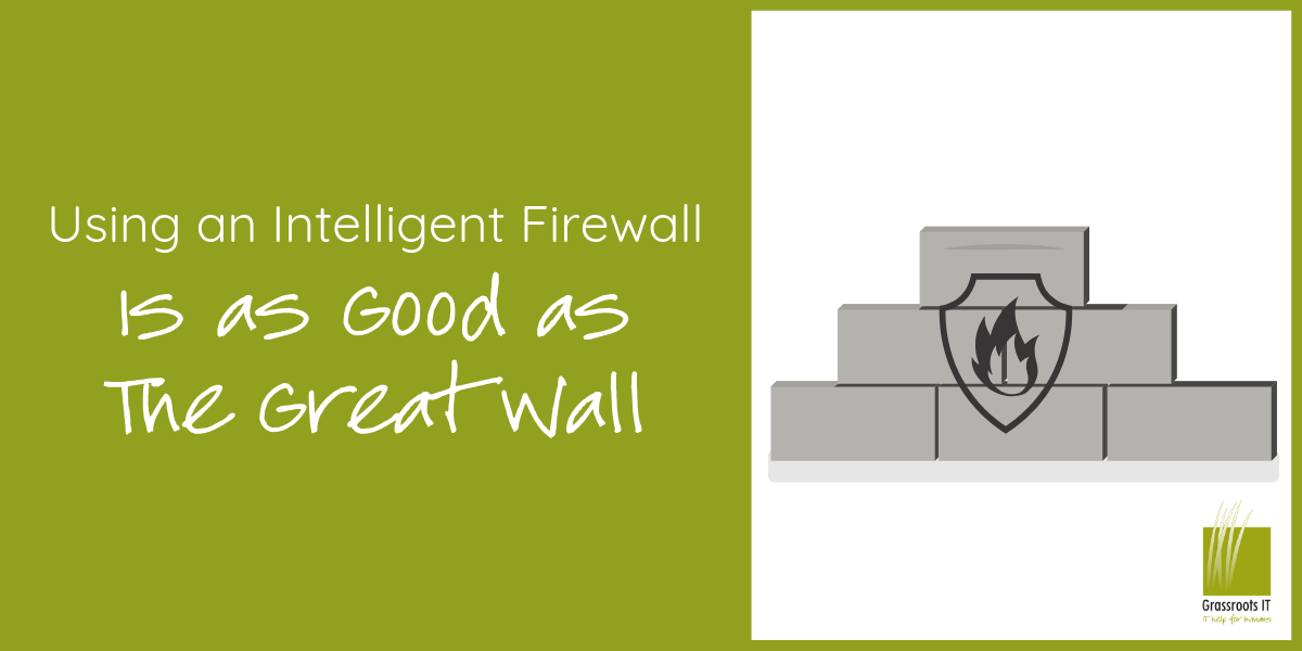 Using an Intelligent Firewall is as Good as the Great Wall
