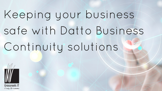 Keeping your business safe with Datto Business Continuity solutions