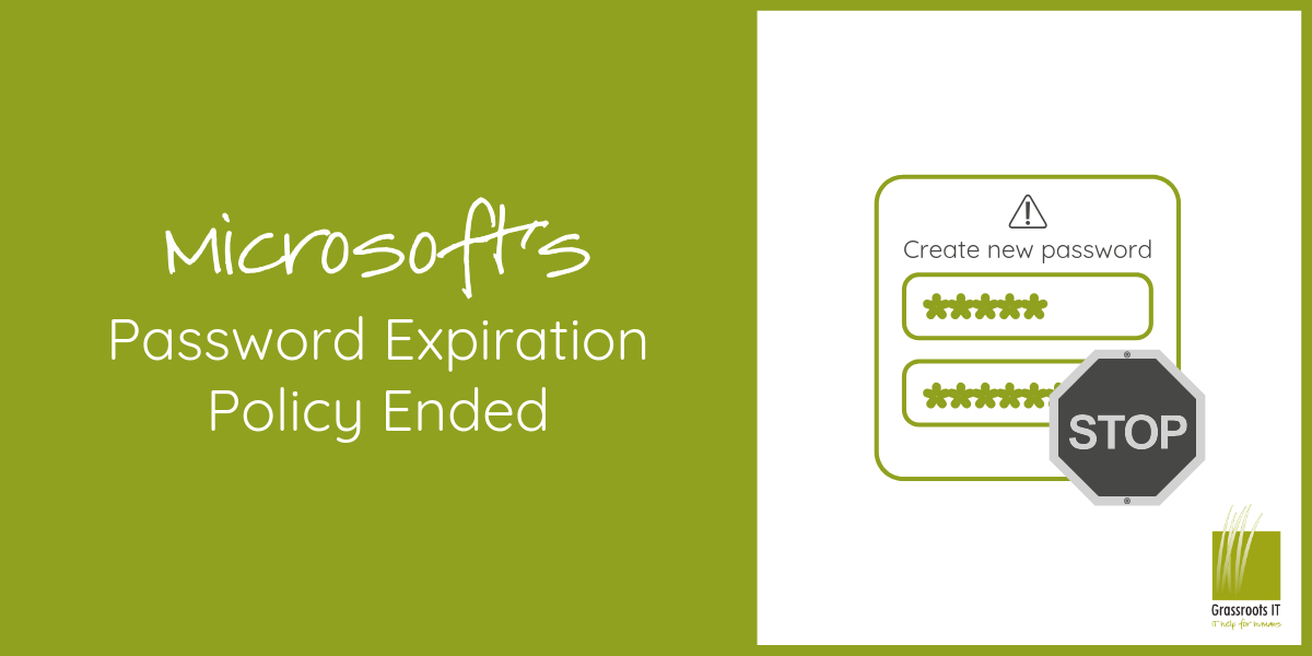 Microsoft's Password Expiration Policy Ended