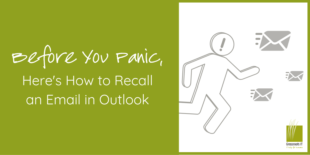 Before You Panic, Here's How to Recall an Email in Outlook