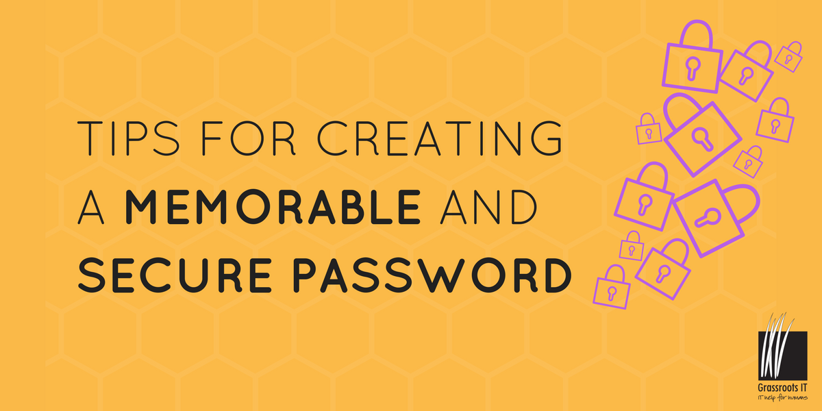 Tips for creating a memorable and secure password-1