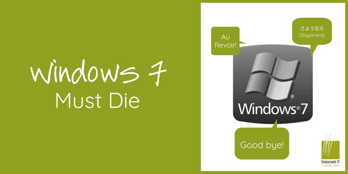 Windows 7 Must Die