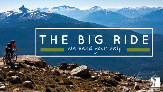 The Big Ride {we need your help}